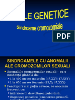 Curs II Sindroame Cromozomiale 2015 an. IV