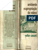 CASSETI, Valter. Ambiente e Apropriação Do Relevo. São Paulo Contexto, 1995
