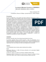 CEDINHCO_Ciclo de Reflexión Modernidad Critica y Política.