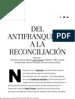 Aniversario Del Guernica_ Del Antifranquismo a La Reconciliación _ Babelia _ EL PAÍS