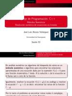 metodos numericos C++