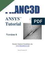 Franc3D V6 Ansys Tutorial5