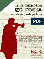 Cuando E. P. Thompson Se Hizo Poeta. Revista de Poesía Política. No. 4