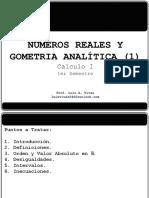 Clase 1_Numeros Reales y Geometria Analítica I