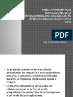 Aines,Antirreumaticos Modificadores de La Enfermedad(Dmard),Analgesicos No