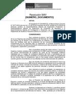 Proyecto Resolución de Reglamento de Auditoria Externa