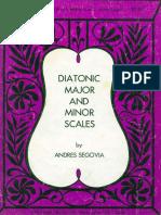 Segovia Andres_Diatonic Major and Minor Scales