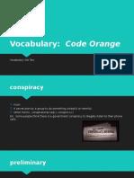 code orange vocabulary 02