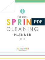 Spring Cleaning Planner