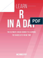 Learn R Programming in a Day