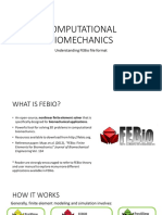 Understanding Febio File Format