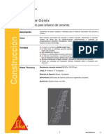 Fibra Acero Refuerzo de Concreto Sikafiber Xorex