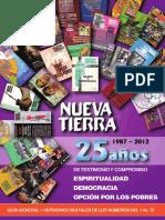 Revista Nueva Tierra 25 Años
