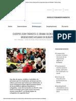 Cuerpos (si)n tránsito_ el drama silencioso de las migraciones afganas en Budapest – Revista Alexia