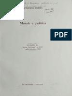 Bobbio Etica e Politica