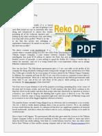 Annexure Summary RekoDiq