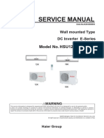 Haier Forward Series Service Manual HSU12VHJ
