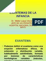 EXANTEMAS DE LA INFANCIA Dr Luque.ppt