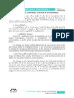 Séance 5 - A. La Francophonie Comme Acteur Géoculturel de La Mondialisation
