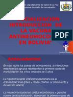 Plan de Introduccion Vacuna ANC LA PAZ
