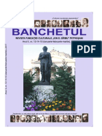 REVISTA BANCHETUL  NR. 13 - 14 - 15, 2017
