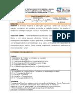 Plano de Curso de Filosofia Da Educação-1.Doc819