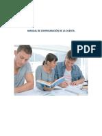 Manual de Configuracion de La Cuenta