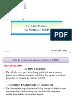 Chapitre Flux Poussé MRP