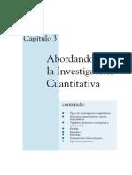 Abordando la investigación cuantitativa 3 de 5