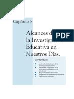 Alcances de la investigación educativa