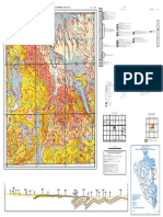 Mapa Geologío Del Cuadrángulo de Condoroma Hoja 31-T-I
