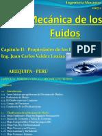 Mecanica-De-los-fluidos-UCSM Capitulo II Propiedades de Los Fluidos