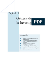 Génesis de la investigación 1 de 5