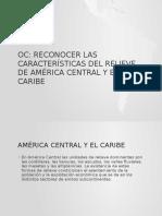 Relieve de America Central y El Caribe