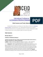 International Conference en Enfermedades Infecciosas Emergentes 2008