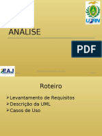 2-Analise OO-1 Requisitos e UML