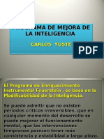 3)Programa de Mejora de La Inteligencia
