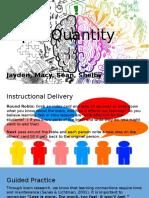 input quantity presentation