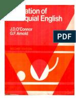 Intonation of Colloquial English - O'Connor and Arnold