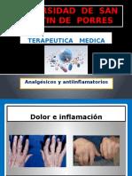 Terapéutica - Analgesicos y Antiinflamatorios