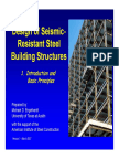 Aisc Seismic Design Module1 Introduction