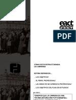 Estructura Curricular Carrera Fotografias