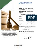 Informe de Contabilidad de Entidades Financieras