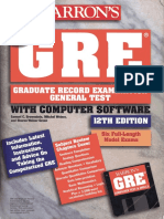 GRE-Barron's GRE(12th Edition)