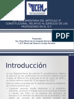 Ley Reglamentaria de Profesionesr