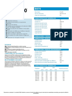 Ficha Técnica Generador D 275