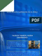 Educac Super en El Peru
