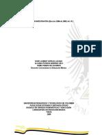 Fundamentos y Líneas de Investigación