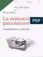 Evaluacion Psicolaboral - Fundamentos y Prácticas