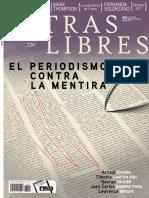 El periodismo contra la mentira | Índice Letras Libres No. 220